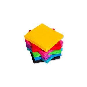 Egyszínű szalvéták 25x25 cm