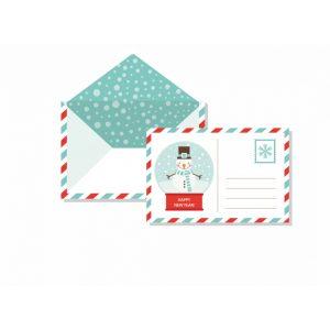 Karácsonyi üdvözlőlapok, ajándékkísérő kártyák