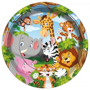Szafari / Dzsungel mintás terítékek és kiegészítők
